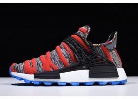 Pharrell x adidas NMD Afro Hu Red Grey Black