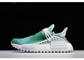 Pharrell x adidas NMD Human Race China Exclusive Youth Green Footwear White