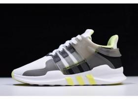 WMNS adidas EQT Support ADV Footwear White Grey Five Semi Frozen Yellow