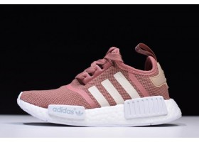 WMNS adidas NMD R1 Raw Pink Rose Salmon Peach Shoes