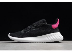 Womens adidas Originals Tubular Dusk Black Pink White