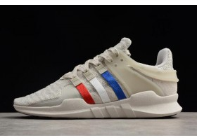 adidas EQT Support ADV Chalk Pearl Cloud White Scarlet