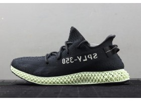 adidas Futurecraft 4D Yeezy 350 V2 Core Black Ash Green