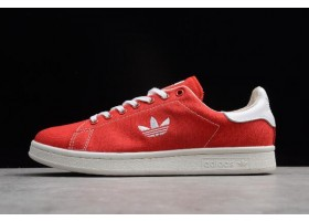 adidas Stan Smith Scarlet Cloud Clear Brown White Shoes