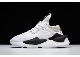 adidas Y3 introducing kaiwa Y3 Fall 2018 Paris White Black Shoes