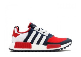 NMD Trail PK White Mountaineering Navy Red White