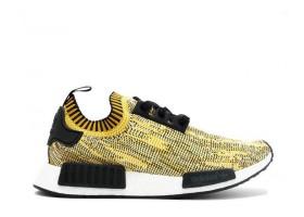 NMD Runner Gold Yellow Black Pk Sneaker Shoes